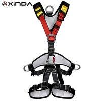 XINDA профессиональные скалолазание высотные полное тело ремня безопасности жгуты анти осень съемный защитный Шестерни