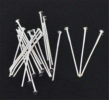 Doreenbeads 450 шт серебристые цветные шпильки для самостоятельного