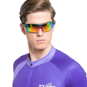 Image 4 - Polarized Cycling Glasses Bike Outdoor Sports Bicycle Sunglasses For Men Women Goggles Eyewear 5 Lens Cycling Glasses MTB