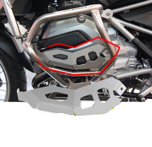 For <font><b>BMW</b></font> <font><b>R1200GS</b></font> Adventure (WATER COOLED) <font><b>Cylinder</b></font> <font><b>Head</b></font> Guards Protector Cover for <font><b>BMW</b></font> Motorcycle Accessories <font><b>R1200GS</b></font> 2013 -on image