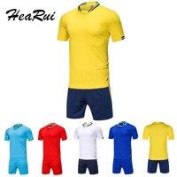 Survetement Football 2017 Maillot De Foot 2016 Men Soccer Jersey Breathable Training Set Sports Kits Men