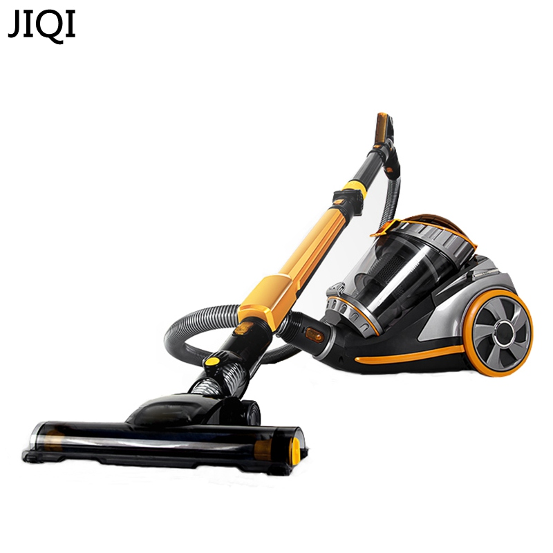 JIQI Vacuum cleaner household ultra quiet high power powerful small machine super large suction No need to bend jiqi vacuum cleaner household small strong divide mite handheld pusher dog and cat pet hair carpet suction machine