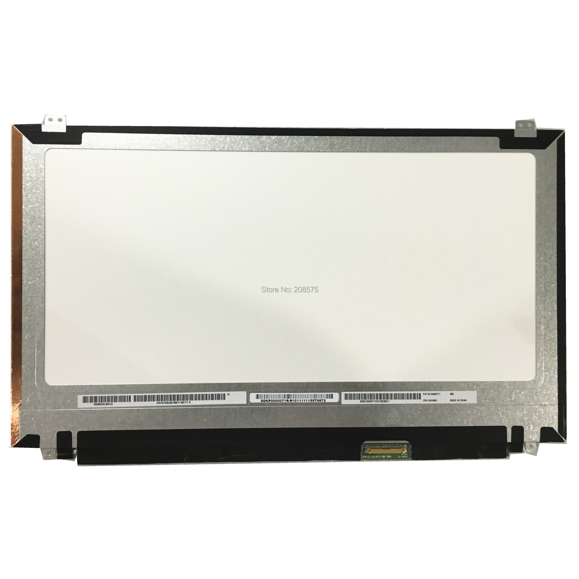 Free Shipping VVX16T028J00 2880*1620 for Lenovo T540p T550 T540 W540 W540P W550S 3K Laptop LCD screen panel with FRU 04X4064Free Shipping VVX16T028J00 2880*1620 for Lenovo T540p T550 T540 W540 W540P W550S 3K Laptop LCD screen panel with FRU 04X4064