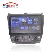Bway 10 2 Car Radio For Honda Accord 7 2 0 2004 2007 Quadcore Android 6