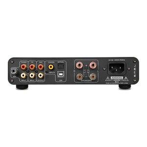 Image 4 - SMSL A6 HIFI wielofunkcyjny wzmacniacz cyfrowy DSD z DAC ICEPOWER 50AS * 2 SE moduł CM6632A + AK4452 DSD512