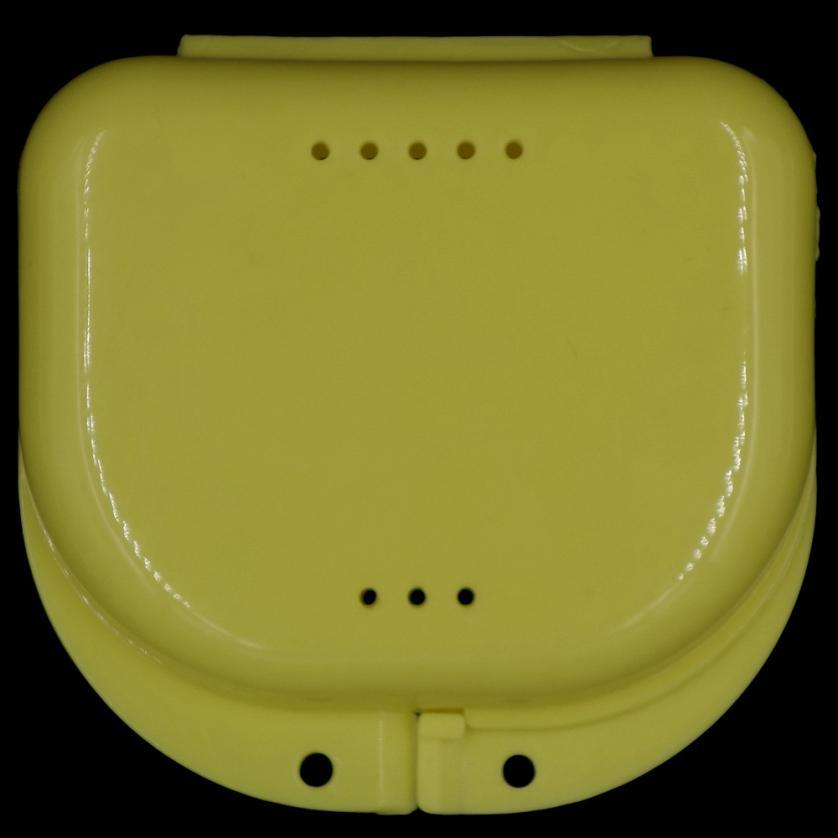 Новый квалифицированные коробка для хранения протез Для ванной Box Дело зубные накладные зубы прибор контейнер для хранения Коробки dentu dig1129