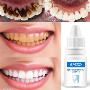 Image 4 - EFERO שיניים הלבנת שיניים מברשת מהות אוראלי היגיינה ניקוי סרום מסיר כתמי פלאק שן הלבנת שיניים כלים שן