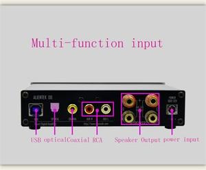 Image 5 - Alientek D8 Pieno di Classe D Amplificatore di Potenza Digitale USB DAC Audio ingresso Amplificatore Per Cuffie XMOS XU208 Coassiale Ottica AUX 80W