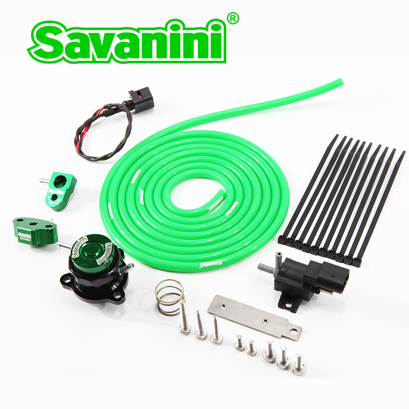 Savanini Brand One Piece Forged BOV Dump <font><b>Valve</b></font> For Benz A/B/C/E GLA GLC GLK and Infiniti <font><b>1.8T</b></font> 2.0T engine Aluminum alloy image