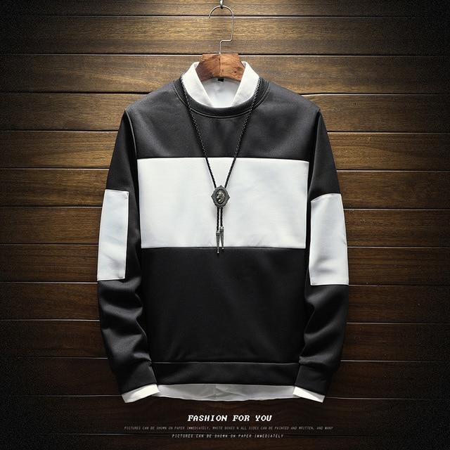 Men Sweatshirt Floral Printed Streetwear  3