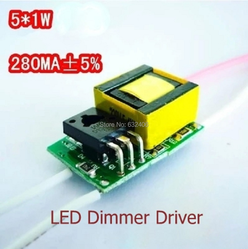 51w Led Dimmer Driver For Lamp Light Constant Current 1w Circuit Power Supply In Lighting Transformers From Lights On Alibaba