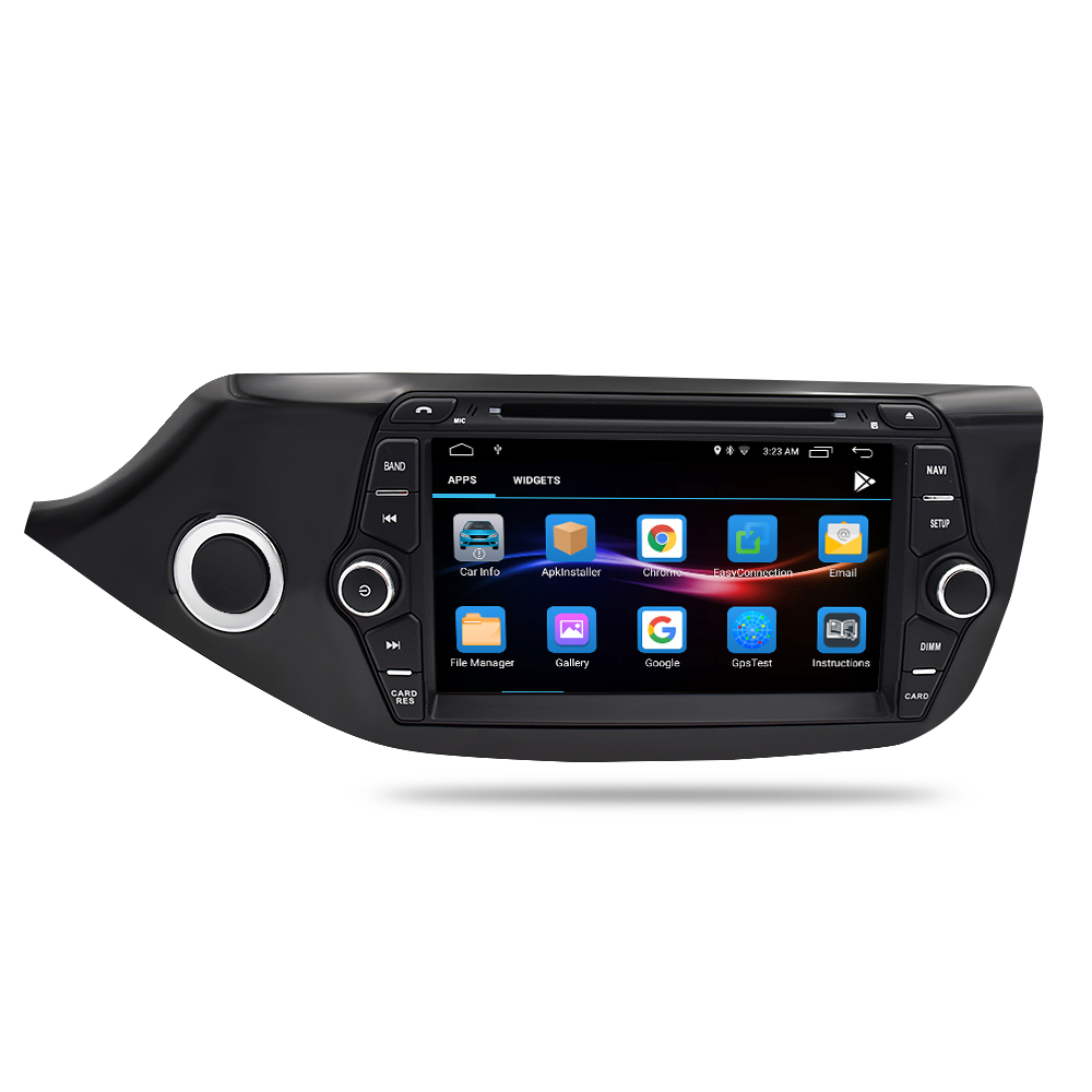 Image 5 - Android 9.1 Car DVD Player for Kia Ceed 2013 2014 2015 Touch Screen 2 Din Audio Radio Stereo WiFI Bluetooth GPS Navi Multimedia-in Car Multimedia Player from Automobiles & Motorcycles