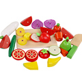 Kids toys The simulation of fruits and vegetables kitchen toys toy for children Montessori education Wooden toys Free shipping