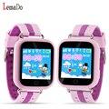 Lemado q750 lindo gps smart watch wifi + bds + lbs agps niños reloj podómetro alarma anti-caído para niño pk q90
