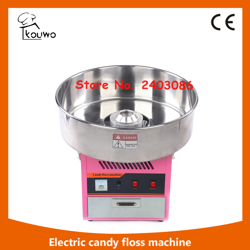 KW-YD01 high quality  electric pink cotton candy floss maker machine  candy floss sugar mix machine for commercial use edtid new high quality small commercial ice machine household ice machine tea milk shop