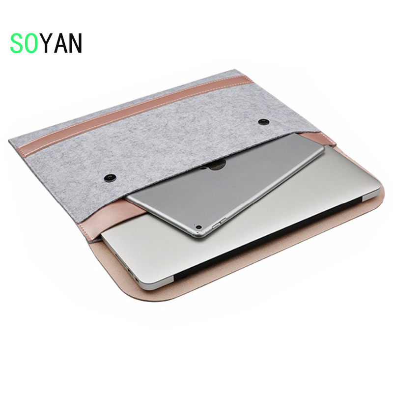 Laptop Bag Notebook Liner Leather Sleeve Bag For Macbook Air 12 13 15 case laptop sleeve For macbook air 13 case macbook air цена 2017