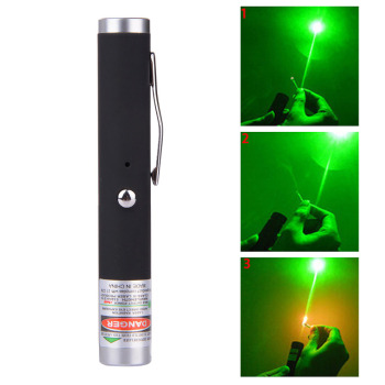 Green Laser Pointer USB Rechargeable Laser Light Built-in Battery Lazer Pen Military Lasers lasers in clinical periodontics