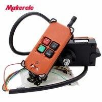 4Key electric hoist wireless remote control/radio remote control/crane remote control/Crane Wireless Remote Control for Sale