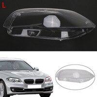 Left Headlight Lens Cover Assembly for BMW 5 Series F10 F11 528i 530i 535i 535d 550i M5 2009-2013 Plastic Protector PDK660
