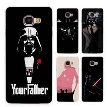 Darth Vader Star Wars Clear Case Cover for Samsung Galaxy A3 A5 A7 A8 2016 2017 A9 Pro