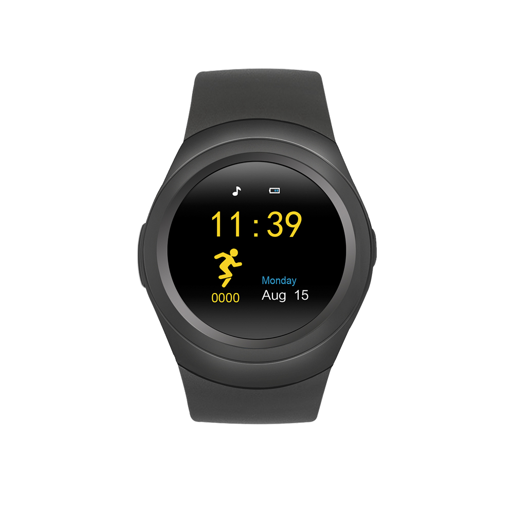 "Senbono Bluetooth S6 Smart Watch with 1.22"" IPS screen SIM card  BT-notification"
