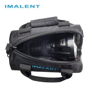 Image 5 - Imalent 2019 מקורי חדש חם Fashional חיצוני שקית מזדמן כתף שקיות עבור MS12/DX80/R90C/R70C פנס accessoriy תיק