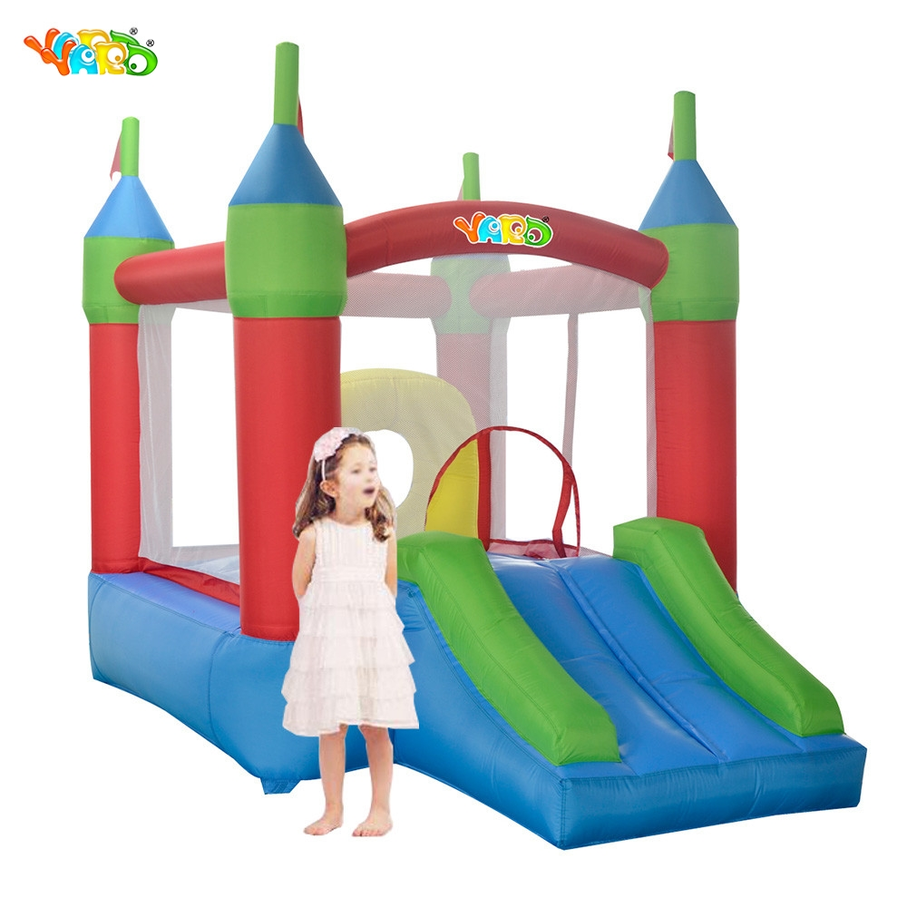 YARD Free Shipping Inflatable Bouncer Bouncy Obstacle Castle Exicting Amusement Park For Family Party yard free shipping bouncy dream castle inflatable jumper bouncer 6 in 1 all round obstacle combo for home use