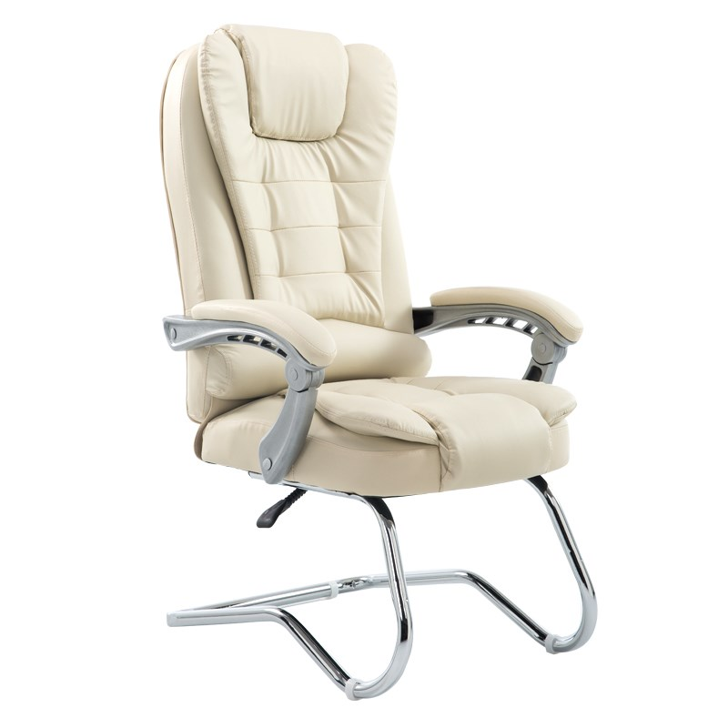 Office Computer Chair Home 170 Degree Reclining Bow Foot Boss Seat Leather Massage Chair Silla Oficina Silla Gamer