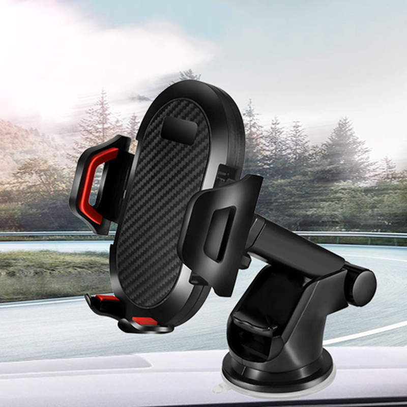 Universal Car Phone Holder For IPhone X 8 8Plus Air Vent Phone Car Holder Windshield Telescopic Mount For Samsung S8 Plus S7