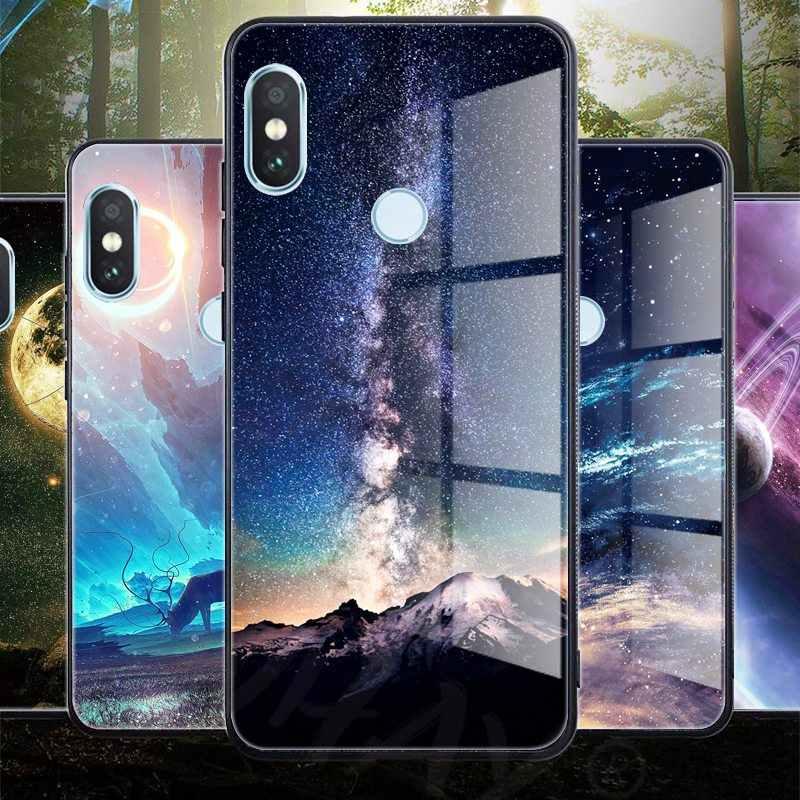 Стеклянный чехол для телефона huawei Nova 3 2i, роскошный силиконовый чехол для huawei P20 Pro Honor Play 7A 9 mate 10 Lite P Smart Y6 2018