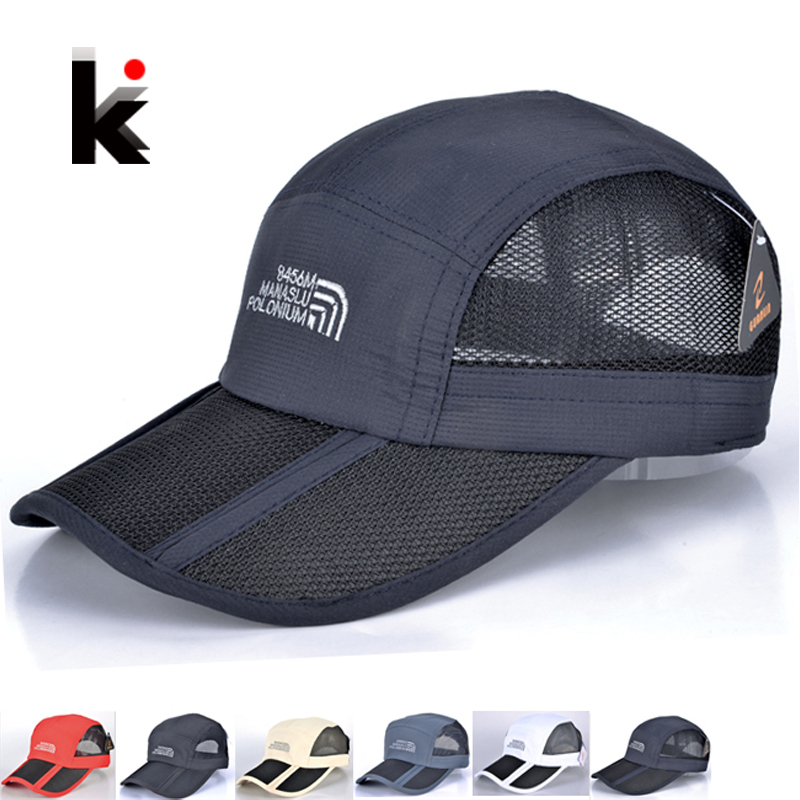 5 colors baseball cap mens
