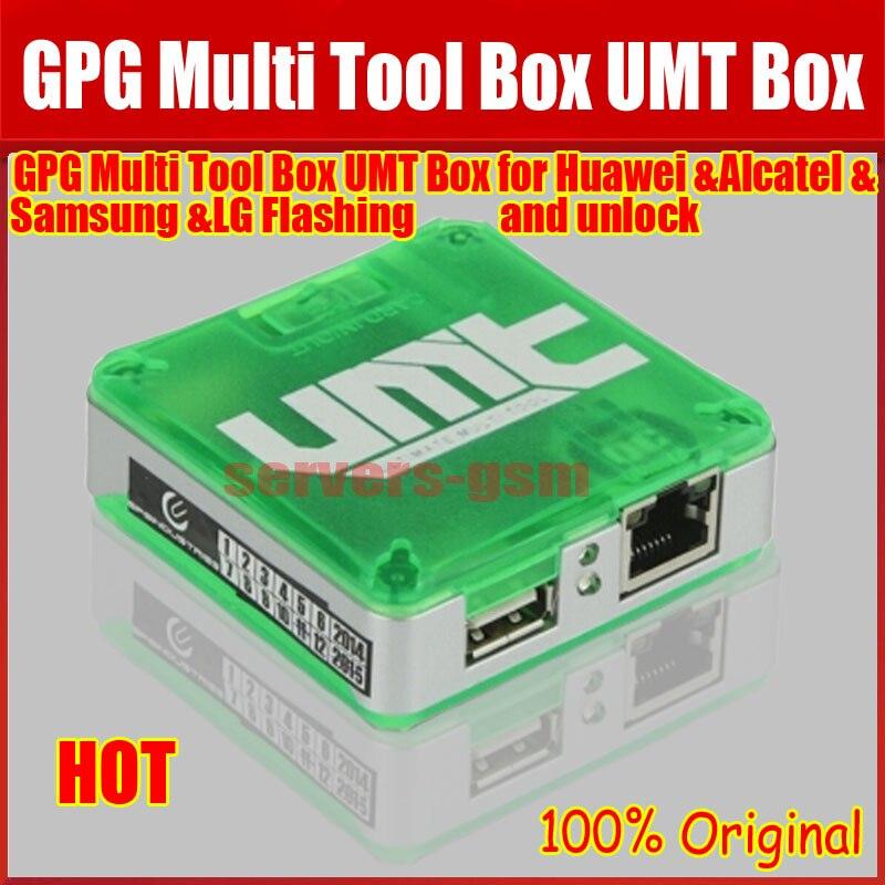 Date 100% Original ultime boîte à outils Multi boîte UMT pour déverrouillage Cdma, flash, verrouillage Sim supprimer