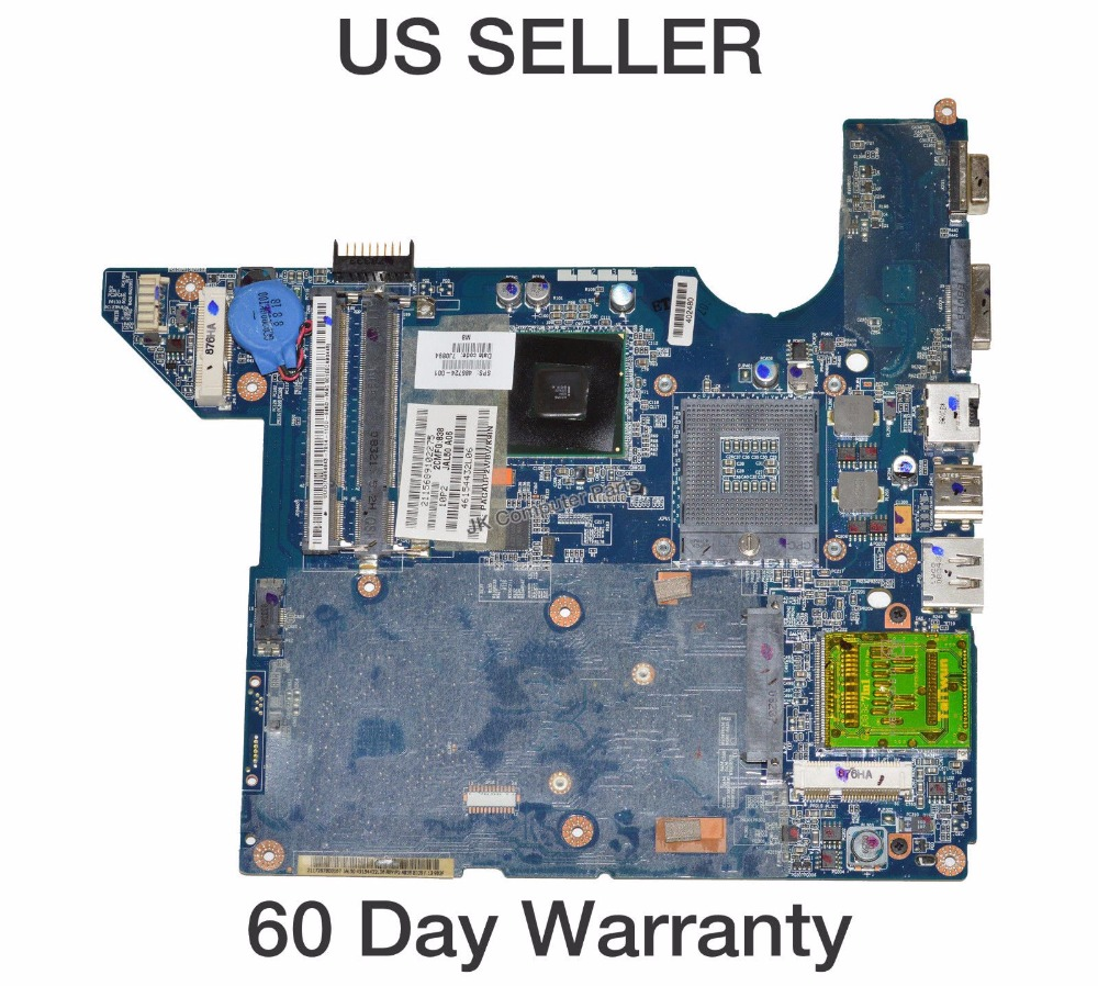 486724-001 Free Shipping LA-4101P Laptop Motherboard for hp DV4 DV4t dv4-1000 dv4t-1100 main board DDR2 GM45 100% tested free shipping laptop motherboard for hp 657602 001 dv4 dv4 3000 motherboard full test and 100