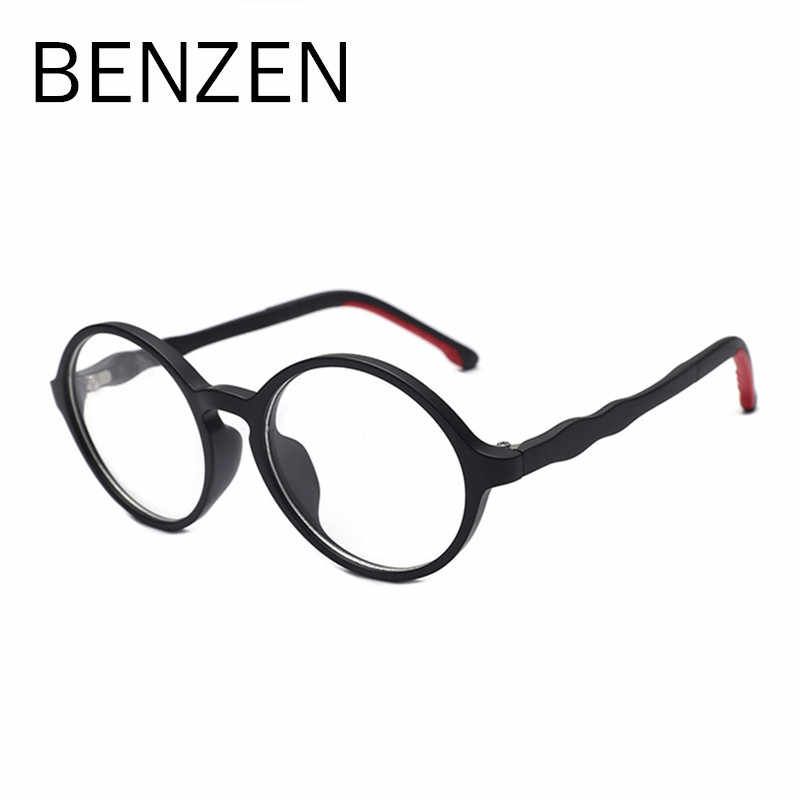 BENZEN Anti Blue Rays Computer Glasses Children Blue Light Filter Computer Gaming Glasses Boy Girl UV400 With case 5130