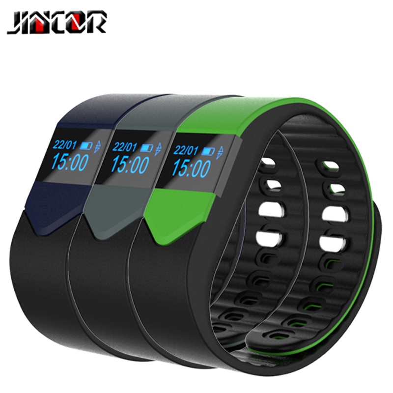 JINCOR SMART SPORTS BRACELET M3S smart wristbands heart rate sleep monitoring call reminders remote control camera