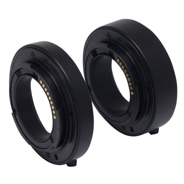 Meike auto foco af confirmar adaptador tubo de extensão macro para canon eos m mirrorless camera