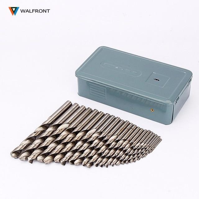 25Pcs HSS Drills Bit Set Drill 1 13mm Twist High Speed Steel ...