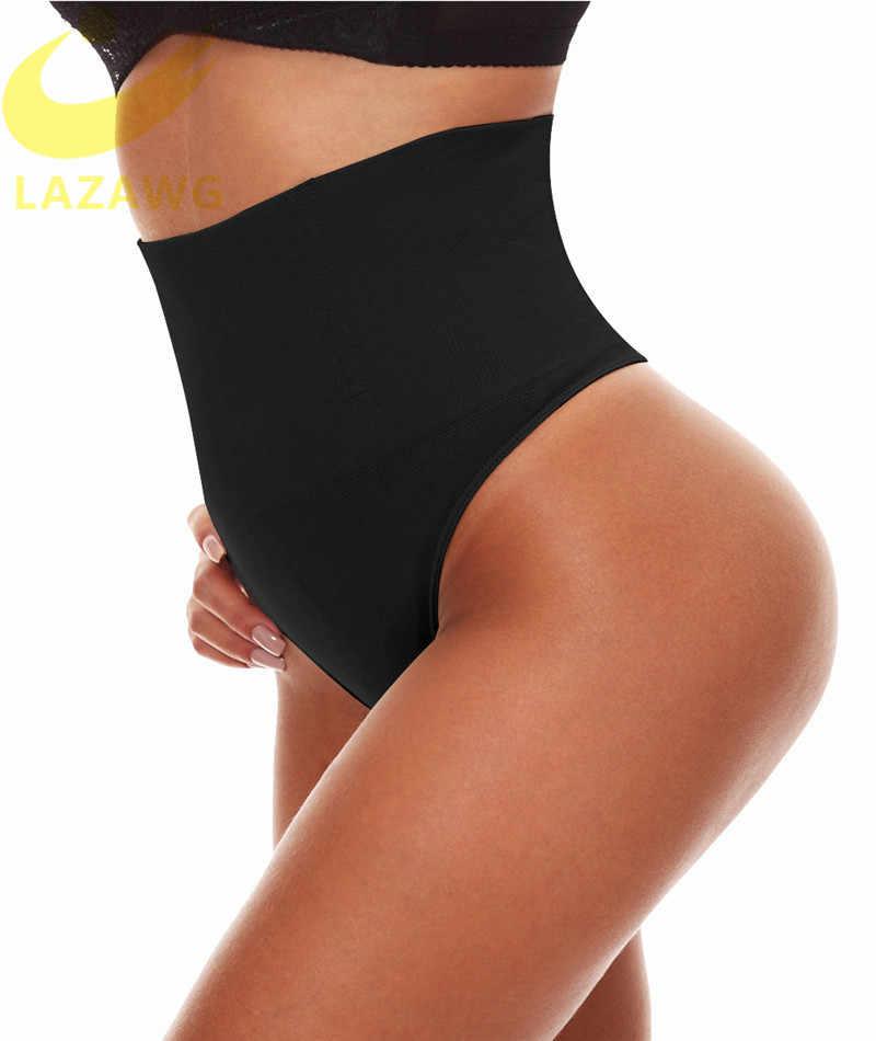 Mulheres Cintura Cincher Tummy Controle Cinturão LAZAWG Tanga Calcinha Emagrecimento Corpo Fajas Shaper Butt Lift Cuecas Bodysuit Cueca