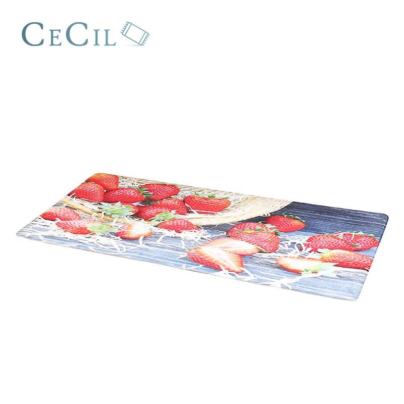 Cecil Welcome Door Mat Floor Mats Print Bathroom Kitchen Doormats Fruit Strawberry Doormat Floor Mat For Living Room Anti-Slip