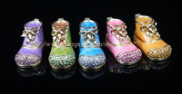 Mini Boot Metal Decorative Box Jewelry Gift Boxes On Sale