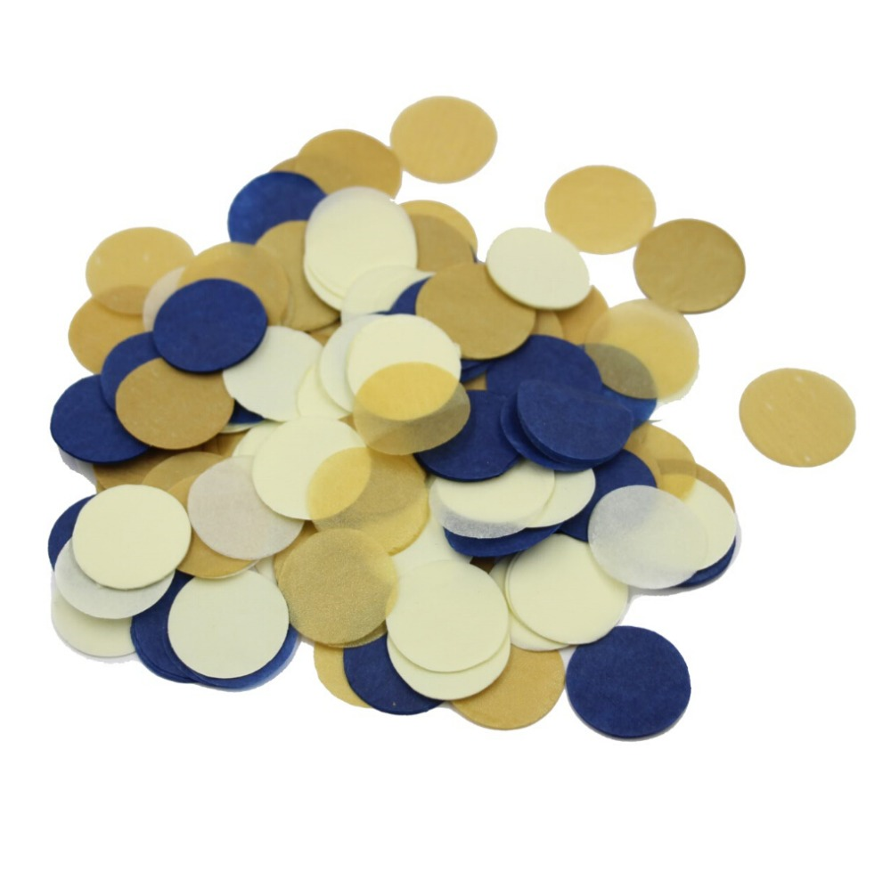 Gold Glitter Blush Pink And Navy Blue Paper Garland Baby Shower Decor Bridal