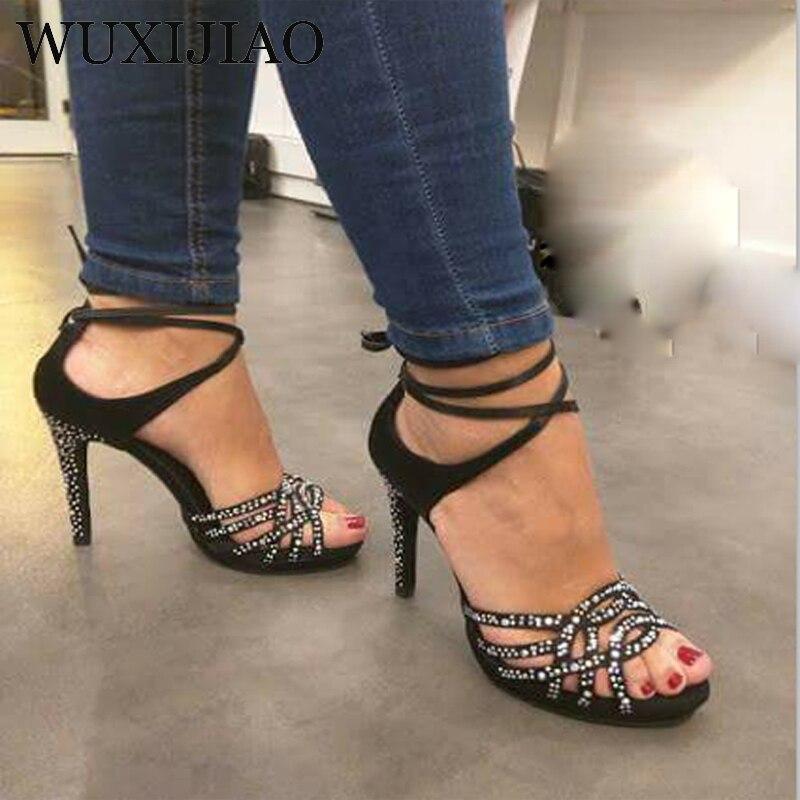 WUXIJIAO Ladies Latin dance shoes with