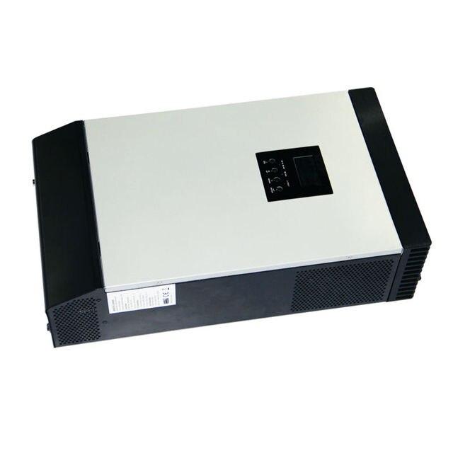 MAYLAR@ Maylar 12VDC 1000VA Peak Power 2000VA Pure Sine Wave Solar Hybrid Inverter Built-in 50A PWM Controller LCD Display