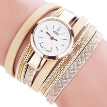 Wonderful High quality 2017 Relogio Masculino Leather-based Strap Bracelet Watch Girls Watches Women Quartz Wristwatch Relogio Feb 22