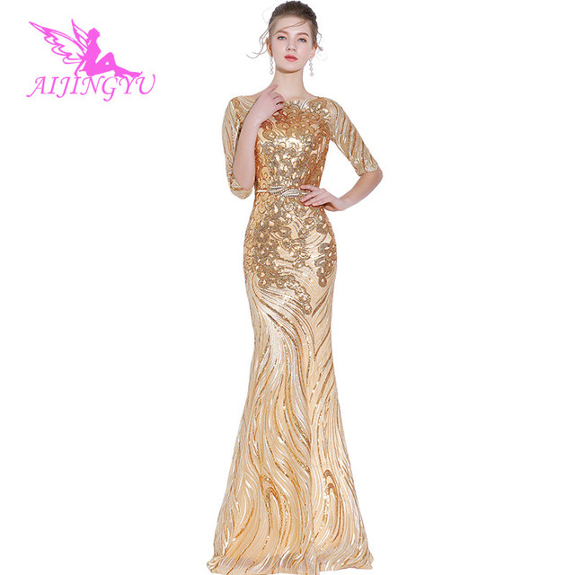 816dab3b8 AIJINGYU Women Evening Dress Party Gown 2018 Sexy Elegant Formal Special  Occasion Dresses Fashion Ball Gowns FS141