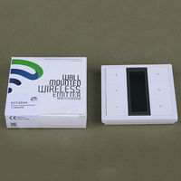 Original Dooya DC1653 wall switch 15 Channel Emitter Remote Controller for Electric Curtain Motor Curtain Accessories