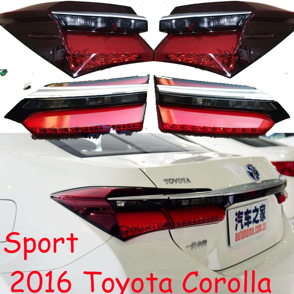 Corolla Taillight,Sport,2016year,corolla Rear Light,altis,corolla Fog Light,auris,corolla Headlight,tundra,corolla Tail Light