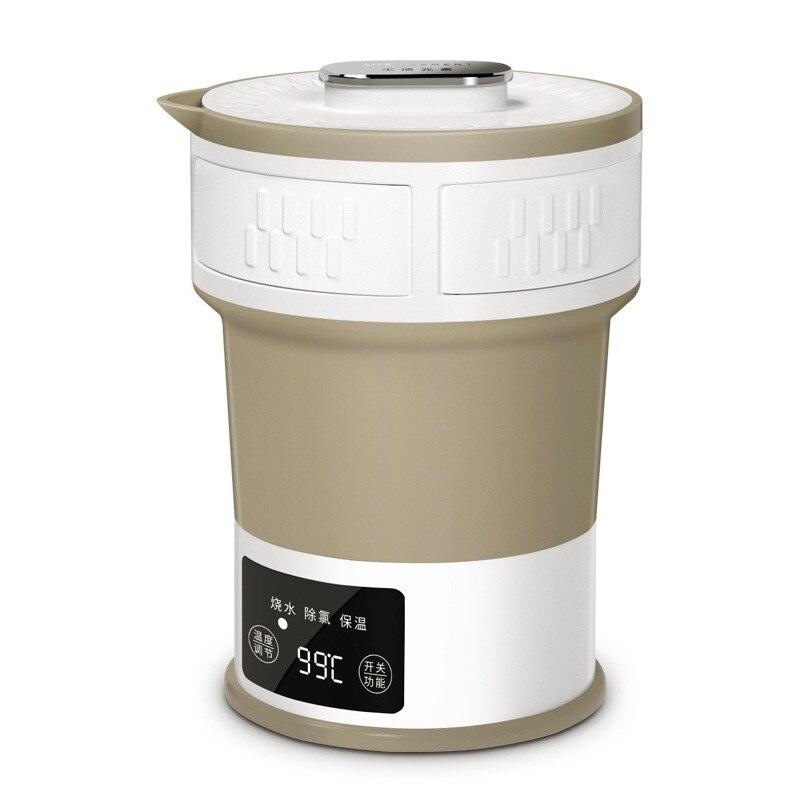 Éléments de la vie I25 pliant bouilloire, type de compression électrique bouilloire, voyager portable bouilloire, mini thermos bouilloire.