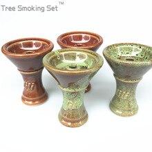 1pcs hookah lili bowl narguile chicha nargile manguera accessories put smoking pipe tobacco aksesuarlar oduman