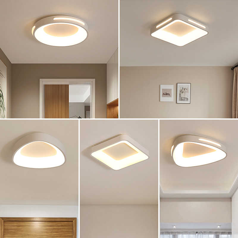 Corridor aisle light simple modern led ceiling lamp bedroom creative personality balcony Ceiling light